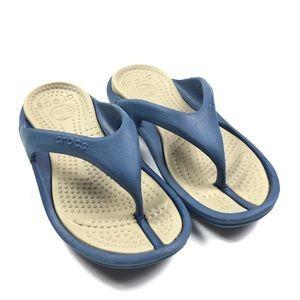 CROCS Thongs Flip Flop Sandals Slip On Shoes